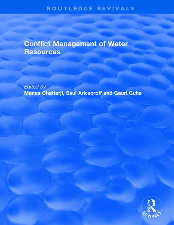 Conflict Management of Water Resources book cover
