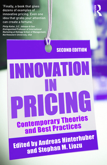 Innovation in Pricing Contemporary Theories and Best Practices book cover