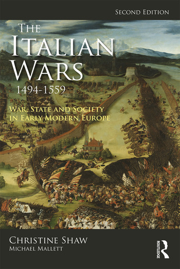 The Italian Wars 1494-1559 War, State and Society in Early Modern Europe book cover
