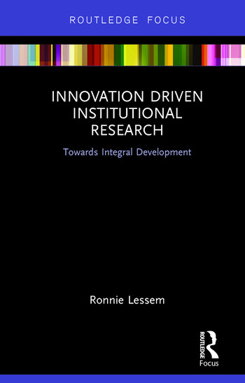 Innovation Driven Institutional Research Towards Integral Development book cover