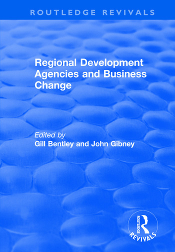 Regional Development Agencies and Business Change book cover