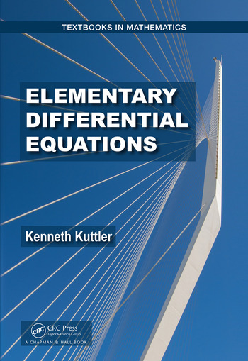 Elementary Differential Equations book cover