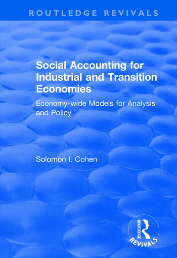 Social Accounting for Industrial and Transition Economies book cover