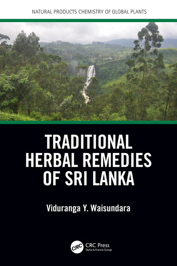 Traditional Herbal Remedies of Sri Lanka book cover