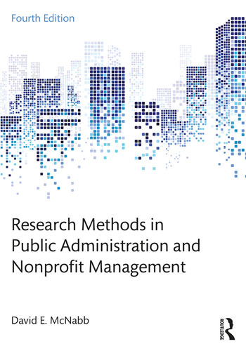 Research Methods in Public Administration and Nonprofit Management book cover