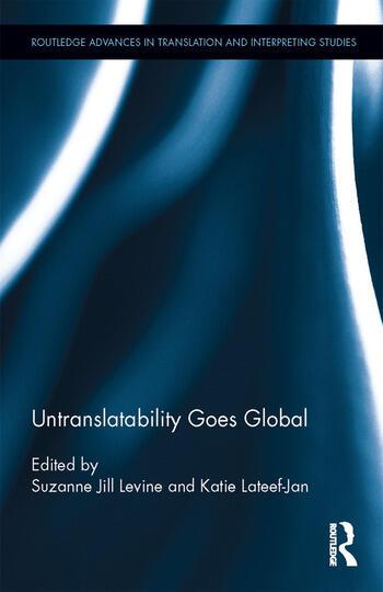 Untranslatability Goes Global book cover