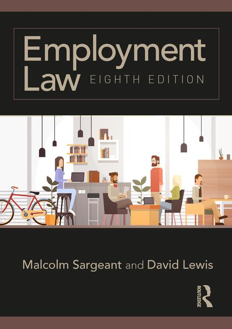 Employment Law Eighth edition book cover
