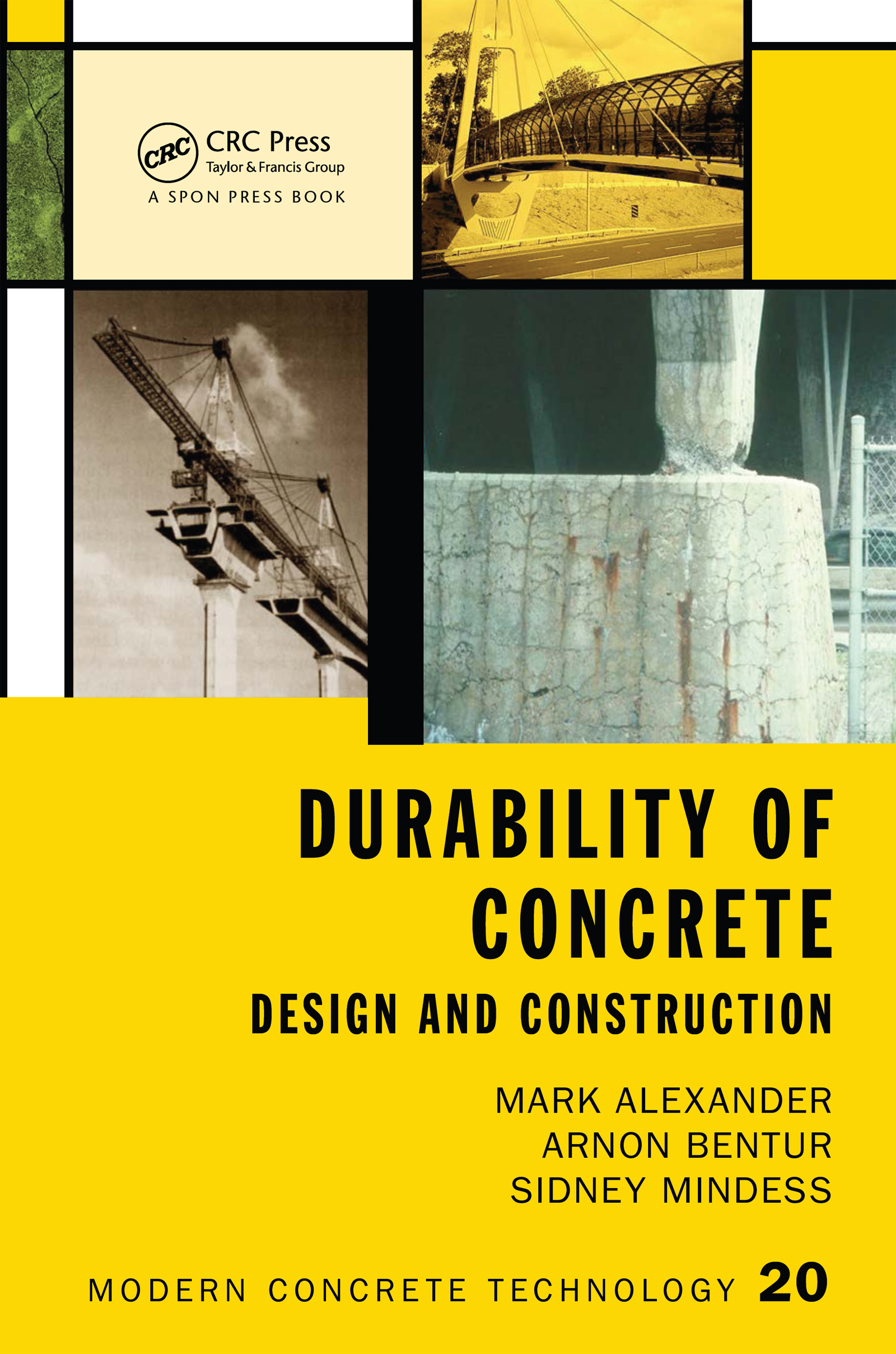 Durability of Concrete Design and Construction book cover