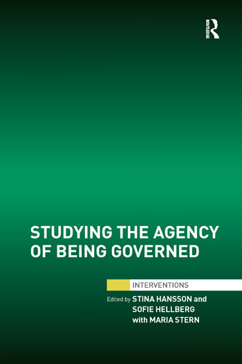 Studying the Agency of Being Governed book cover
