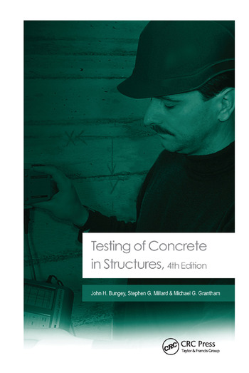Testing of Concrete in Structures Fourth Edition book cover
