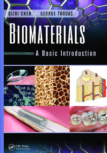 Biomaterials A Basic Introduction book cover
