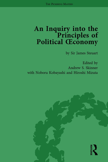 An Inquiry into the Principles of Political Oeconomy Volume 1 A Variorum Edition book cover