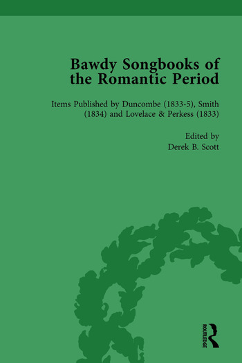 Bawdy Songbooks of the Romantic Period, Volume 4 book cover