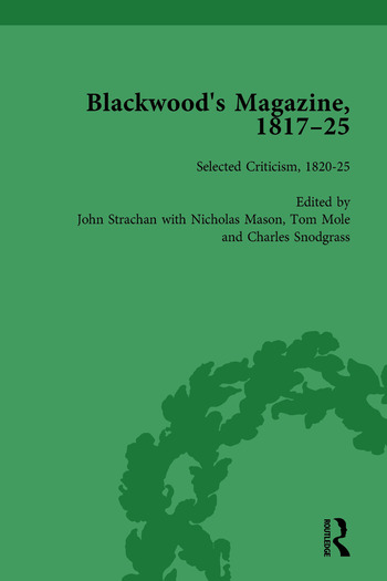 Blackwood's Magazine, 1817-25, Volume 6 Selections from Maga's Infancy book cover