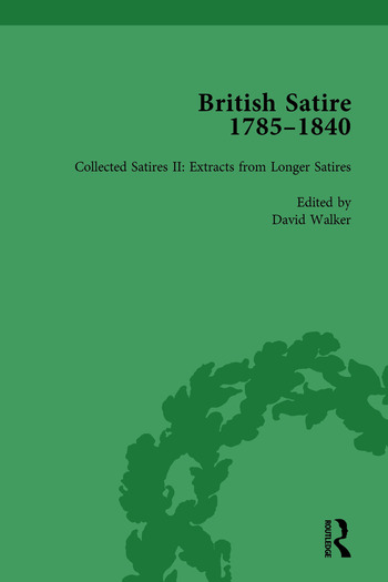 British Satire, 1785-1840, Volume 2 book cover