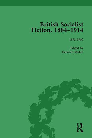 British Socialist Fiction, 1884–1914, Volume 2 book cover