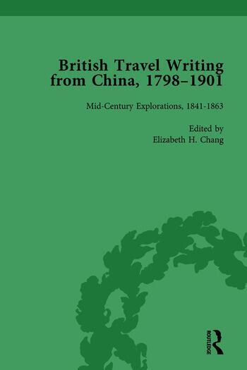 British Travel Writing from China, 1798-1901, Volume 2 book cover