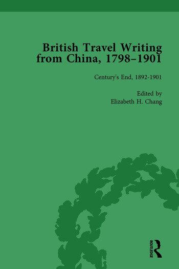 British Travel Writing from China, 1798-1901, Volume 5 book cover