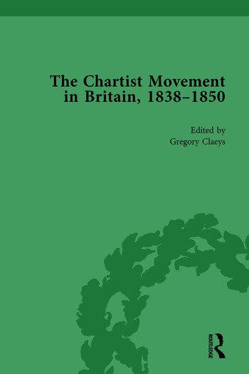 Chartist Movement in Britain, 1838-1856, Volume 3 book cover