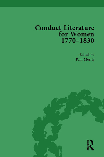 Conduct Literature for Women, Part IV, 1770-1830 vol 1 book cover