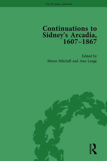 Continuations to Sidney's Arcadia, 1607–1867, Volume 1 book cover