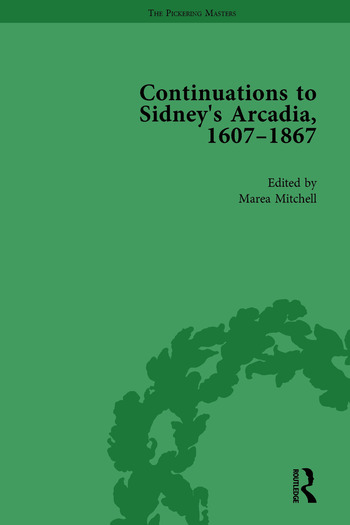 Continuations to Sidney's Arcadia, 1607–1867, Volume 4 book cover