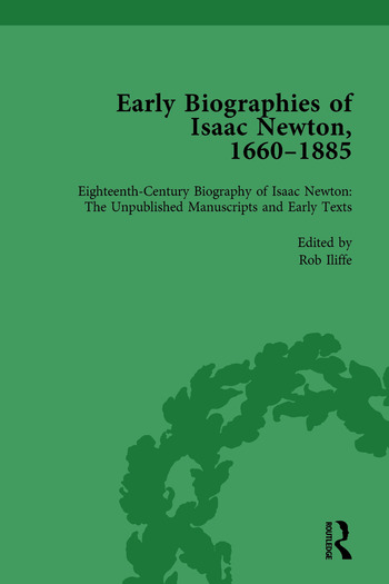 Early Biographies of Isaac Newton, 1660-1885 vol 1 book cover