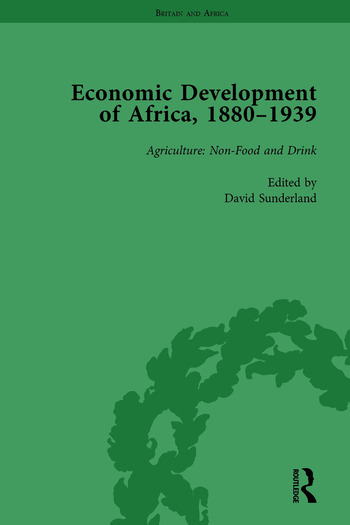 Economic Development of Africa, 1880–1939 vol 1 book cover
