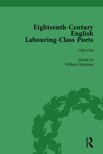 Eighteenth-Century English Labouring-Class Poets, vol 1 book cover