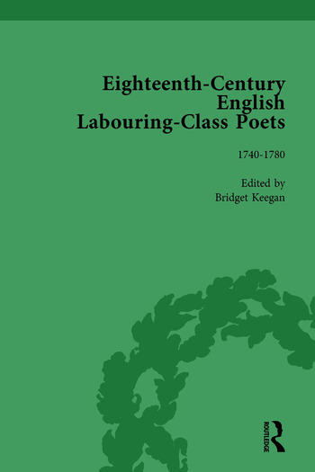 Eighteenth-Century English Labouring-Class Poets, vol 2 book cover