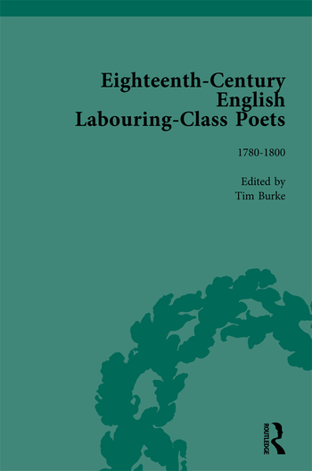 Eighteenth-Century English Labouring-Class Poets, vol 3 book cover