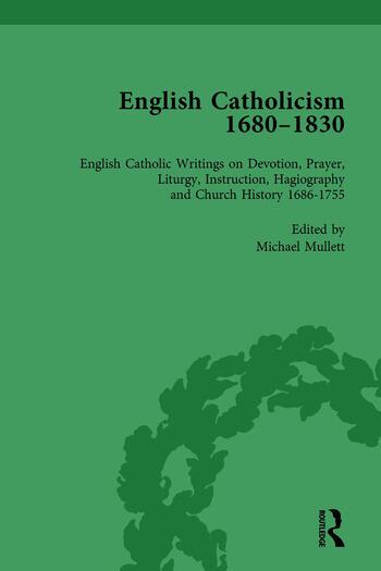 English Catholicism, 1680-1830, vol 2 book cover