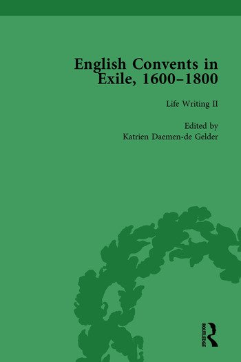 English Convents in Exile, 1600–1800, Part II, vol 4 book cover