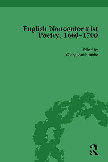 English Nonconformist Poetry, 1660–1700, vol 2 book cover