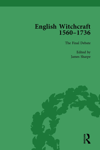 English Witchcraft, 1560-1736, vol 6 book cover