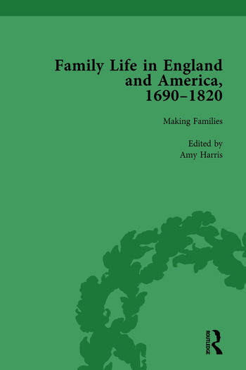 Family Life in England and America, 1690–1820, vol 2 book cover
