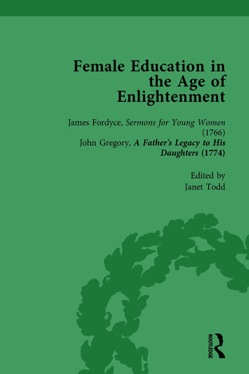 Female Education in the Age of Enlightenment, vol 1 book cover