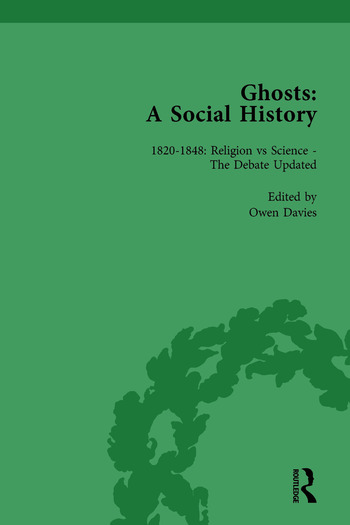 Ghosts: A Social History, vol 3 book cover