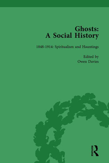 Ghosts: A Social History, vol 4 book cover