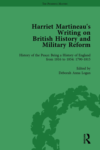 Harriet Martineau's Writing on British History and Military Reform, vol 1 book cover