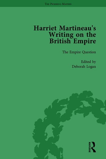 Harriet Martineau's Writing on the British Empire, vol 1 book cover