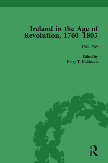 Ireland in the Age of Revolution, 1760–1805, Part I, Volume 3 book cover
