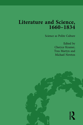 Literature and Science, 1660-1834, Part I. Volume 1 book cover
