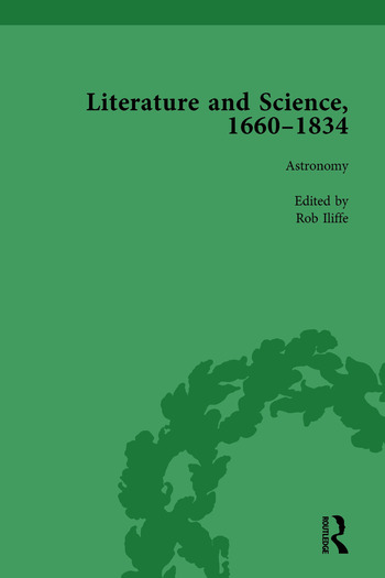 Literature and Science, 1660-1834, Part II vol 6 book cover