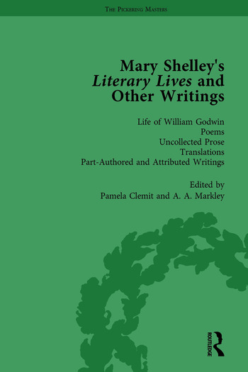 Mary Shelley's Literary Lives and Other Writings, Volume 4 book cover