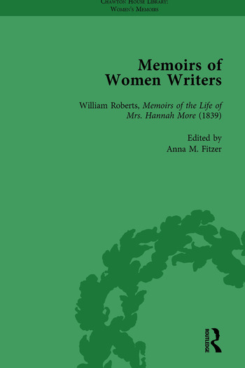 Memoirs of Women Writers, Part I, Volume 2 book cover