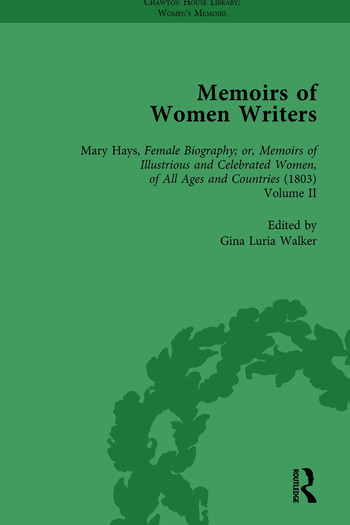 Memoirs of Women Writers, Part II, Volume 6 book cover