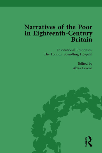 Narratives of the Poor in Eighteenth-Century England Vol 3 book cover