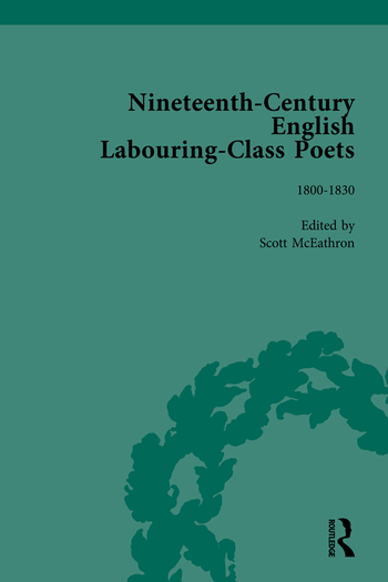 Nineteenth-Century English Labouring-Class Poets Vol 1 book cover