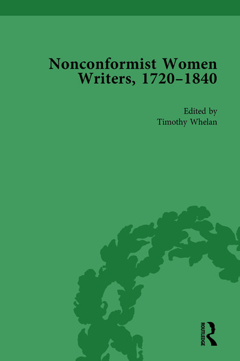 Nonconformist Women Writers, 1720-1840, Part I Vol 4 book cover